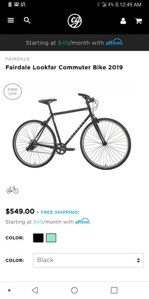 2018 Fairdale lookfar 7 speed bike (like new) for Sale in New York, NY