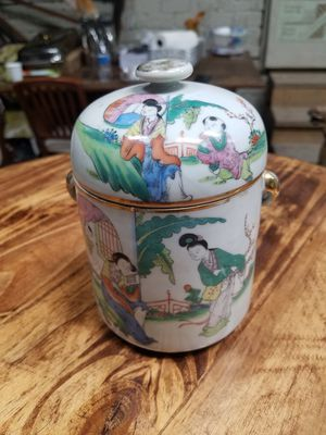 Chinese porcelain jar for Sale in Glendale, CA