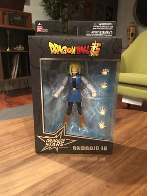 Bandai Dragon Stars Dragon Ball Z Android 18 Wave 12 for Sale in Los Angeles, CA
