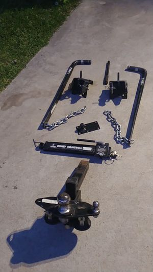Trailler hitch with sway control for Sale in Redlands, CA