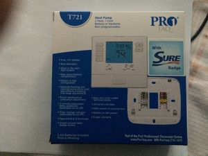 Heat Pump T721 Pro1 IAQ Thermostat Non Programmable for Sale in Owings Mills, MD