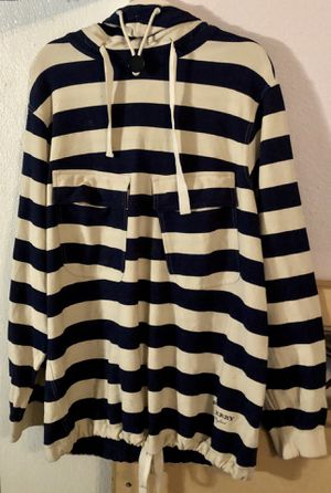 Men's BURBERRY Thornford Striped Pull Over Hoodie for Sale in Mill Creek, WA