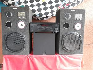 Pioneer Sound System with JVC Subwoofer Ideal for PARTIES for Sale in San Jose, CA