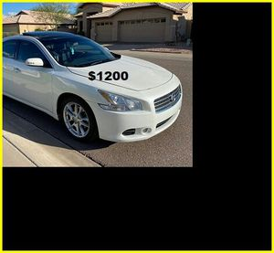 Price$12OO 2OO9 Nissan Maxima for Sale in Sioux City, IA
