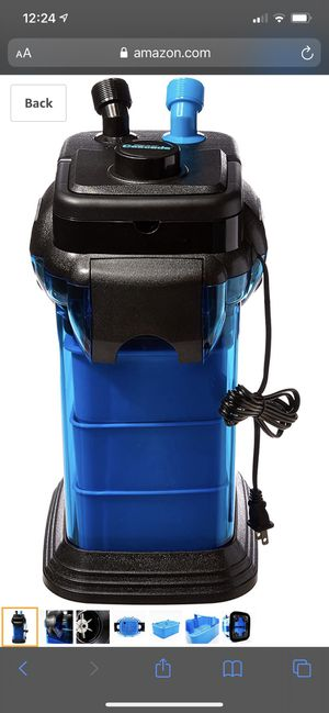 Aquarium cascade canister filter for Sale in La Vergne, TN