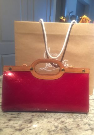 Louis Vuitton Red Vernis Bag for Sale in US