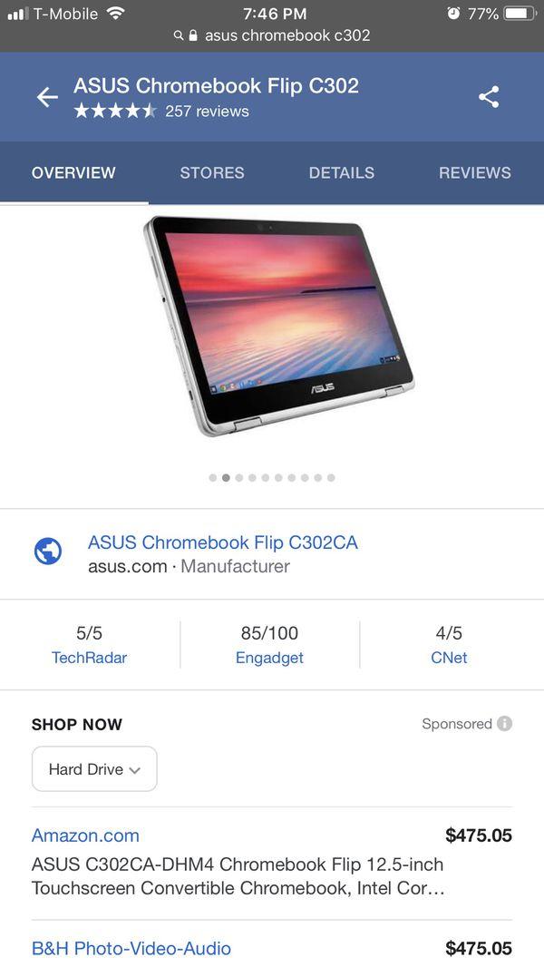 ASUS Chromebook Flip C302 for Sale in Santa Clara, CA - OfferUp