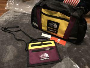 supreme tnf shoulder bag cross body waist bag fanny pack & travel wallet for Sale in Austin, TX
