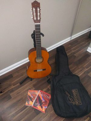 Guitar, stand, bag, book, and dvd 80.00 for Sale in PA, US