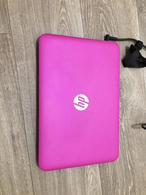 "Pink 12"" HP stream laptop for Sale in San Antonio, TX"