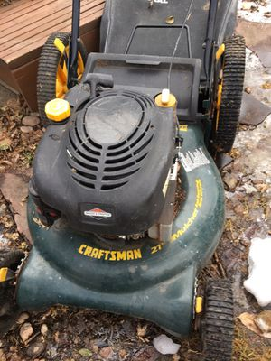 Lawn mower - gas powered, Craftsman Mulcher for Sale in Glendale, CO