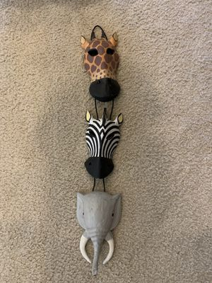 African animal decor for Sale in San Jose, CA