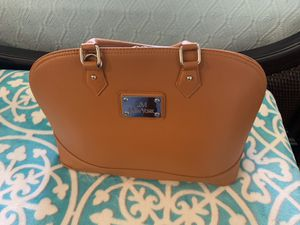Brown leather bag for Sale in Davie, FL