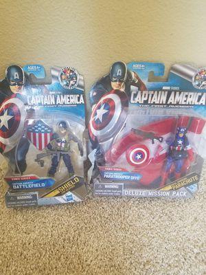 Marvel captain America figures for Sale in Bonney Lake, WA