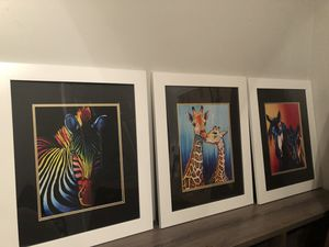 Custom framed original limited prints price reduced !!! for Sale in Vidalia, GA
