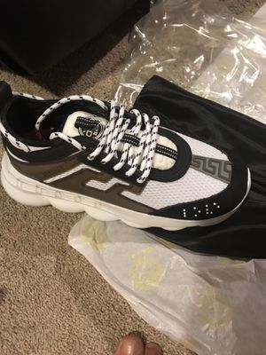 Versace Chain Reaction Sneakers for Sale in Moline, IL
