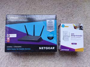 SMART WIFI ROUTER + Range Extender - NEW IN BOX for Sale in Pasadena, CA