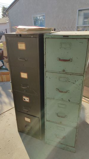 Antique filing cabinets for Sale in Pomona, CA