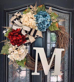 Custom grapevine wreaths for Sale in Odessa, TX
