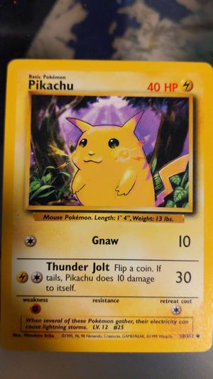 Pikachu Pokemon card for Sale in Portland, OR