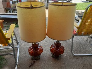 VERY UNIQUE LOOKING VINTAGE LAMPS for Sale in Arnold, MO
