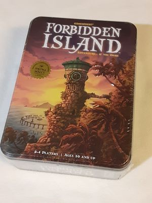 Forbidden Island – The Cooperative Strategy Survival Island Board Game for Sale in Sacramento, CA