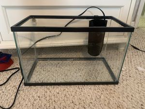 10 gallon fish tank for Sale in NC, US