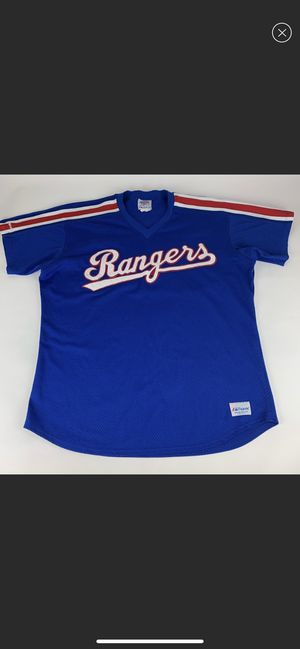 Texas Rangers MLB Vintage Authentic Majestic Diamond Collection Jersey for Sale in Phoenix, AZ