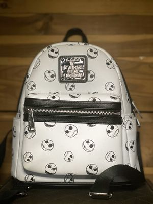 Nightmare before Christmas loungefly mini backpack rare for Sale in Riverside, CA