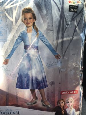 New frozen 2 dress size 4-6 for Sale in University Place, WA