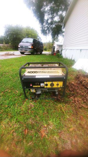 Champion 4000w generator for Sale in Lutz, FL