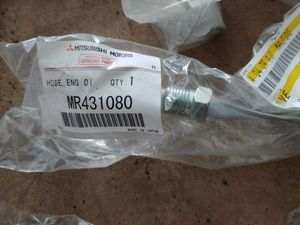 Mitsubishi Montero Parts - Oil Cooler Lines, O ring kit for valve cover for Sale in Portland, OR