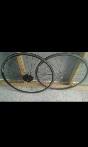 Light weight speed rims with NEW shimano hyperglide for bike for Sale in Spanaway, WA