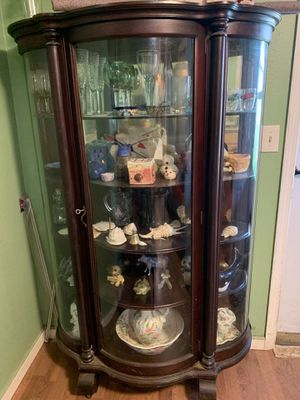 Antique China Cabinet for Sale in Portland, OR
