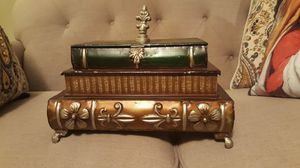 books stack Decorative metal box for Sale in Harrisonburg, VA