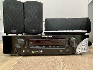Full home theater sound system! Marantz NR1506 surround sound receiver/amplifier AND Definitive ProCinema surround sound speakers for Sale in Los Angeles, CA