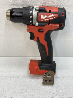 Milwaukee M18 18-Volt Lithium-Ion Brushless Cordless 1/2 in. Compact Drill/Driver (Tool-Only) for Sale in Bakersfield, CA