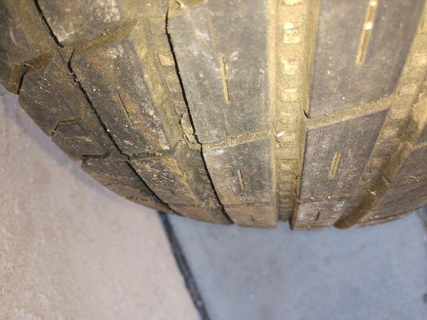 Trailer tire great spare tire