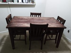 Dinning Room Table and Chairs for Sale in MONTGOMRY VLG, MD