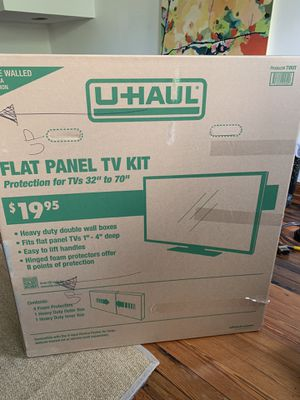 Free Uhaul TV moving box for Sale in Washington, DC