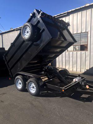 Brand new 8x12x4 hyd dump trailer for Sale in San Diego, CA