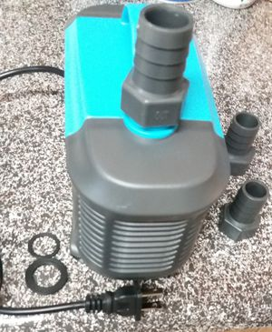 Waterfall pond pump 90 watts of power. Pond circulation pump  large aquarium fountain pump brand new. for Sale in Las Vegas, NV