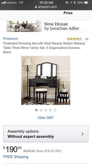 Makeup Vanity Set $80 for Sale in Phoenix, AZ