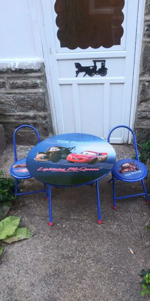 Kids table and chairs. for Sale in Philadelphia, PA