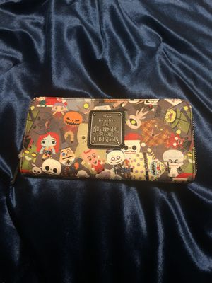 Tim burton the nightmare before Christmas wallet for Sale in Spanaway, WA