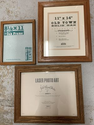 3 Large Frames—all 3 for $10 for Sale in Gilroy, CA