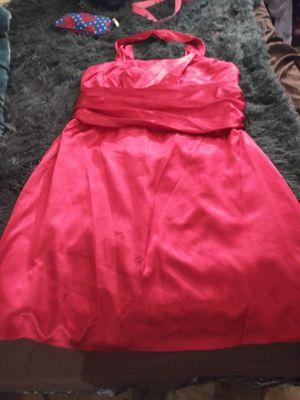 Beautiful red pretty prom dress for Sale in San Antonio, TX