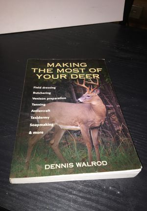 Deer Hunting Game Preparation, etc. Book for Sale in Little Falls, MN