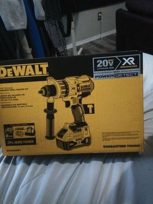 Dewalt 20Volt HAMMER DRILL power detect kit for Sale in Bellingham, WA