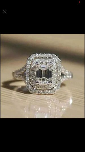 10k gold filled 10k stamped stimulated diamond ring size 5,6,7,8,9,10 available for Sale in Silver Spring, MD